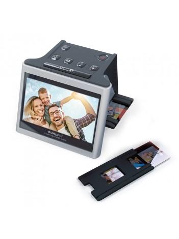 """Scaner de film și diapozitive 3in1 Easypix Cyberscaner  senzor 14MP , Afișaj 5 """" Rezoluție optica până la 22MP"""