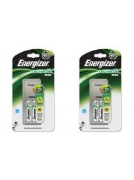 Incarcator Energizer cu 2 acumulatori 2000 mAH, Pachet 2 bucati