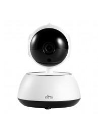 Camera IP Media-Tech Smart C;oud Securecam, HD 720p pentru utilizare la Interior, Supraveghere Video de pe Mobil si PC, Detectare Miscare, LED-uri Infrarosu pentru Vedere de Noapte, Slot Micro-SD
