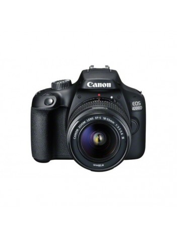 Canon EOS 4000D cu Obiectiv 18-55mm DC III + 75-300 DC III