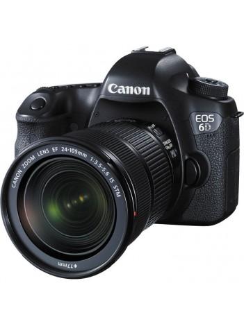 Canon EOS 6D WiFi GPS cu Obiectiv 24-105mm f/3.5-5.6 IS STM