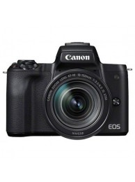 Aparat Foto Mirrorless Canon EOS M50, Negru cu Obiectiv EF-M 18-150mm IS STM