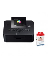 Canon Selphy CP910 Neagra - Wi-Fi Kit (Include set KP-108) + Cash-Back Canon 100 Lei