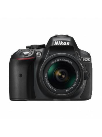 Nikon D5300 cu Obiectiv 18-55mm AF-P VR