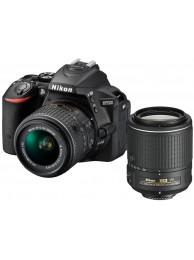 Nikon D5500 cu Obiectiv 18-55mm AF-P VR si Obiectiv 55-200mm VR II