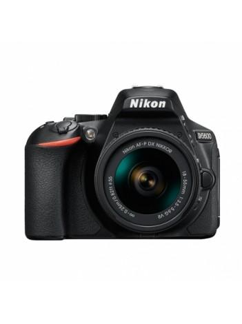 Nikon D5600 cu Obiectiv 18-55mm AF-P VR