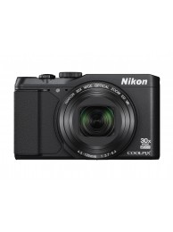Nikon Coolpix S9900 16Mpx, 30x Zoom optic, Filmare Full-HD, Wi-Fi, NFC, Negru