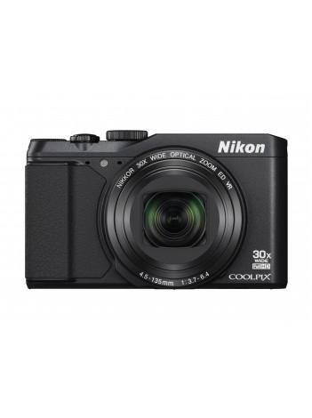 Nikon Coolpix S9900 16Mpx, 30x Zoom optic, Filmare Full-HD, Wi-Fi, NFC, Negru