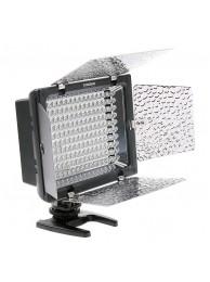 Lampa Lumina Continua LED cu Telecomanda Yongnuo YN 160II cu 160 LED-uri, Voleti detasabili, Microfon Incorporat si Ajustare Automata a Luminozitatii, Temperatura Culoare 5600K
