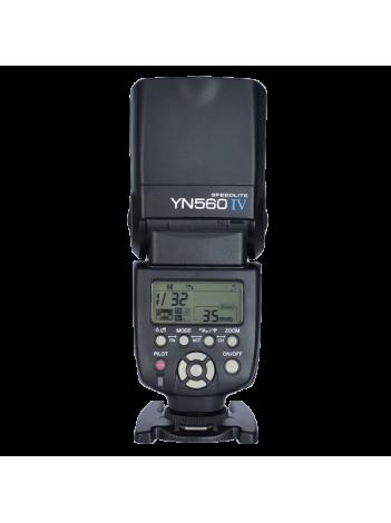 Blitz Yongnuo YN 560 IV, (Master/Stand-Alone/Slave) cu Declansator Radio Incorporat, GN58, No HSS, pentru Nikon/Canon/Pentax