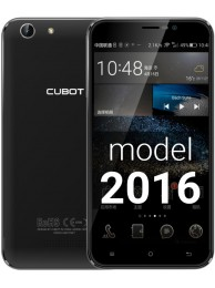 SmartPhone CUBOT NoteS Dual SIM, 3G, 5.5 inch HD IPS, Procesor Quad Core 1.3 GHz, 2GB RAM DDR3, 16GB Flash, Camera 8 MPx, Android 6.0, Negru  +BONUS: Carcasa Transparenta si Folie Sticla