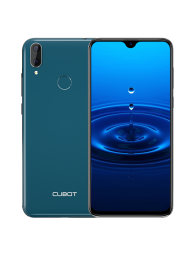 "Cubot R15, 6.26"" HD+, 2+16GB, Android 9, Verde +Husa +Folie"