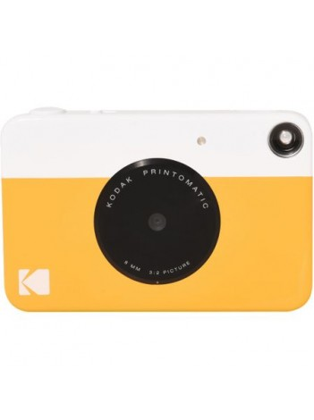 Kodak Printomatic Galben 10MP  Aparat Foto Instant  +BONUS: 10 coli