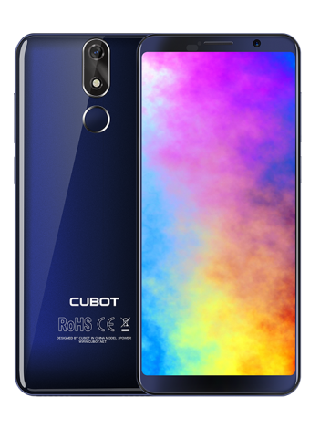 "Telefon Mobil CUBOT POWER, 4G, 5.99"" FHD+, 6+128GB, Android 8.1, Albastru (include Husa Silicon si Folie)"