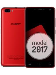 Telefon Mobil Cubot Rainbow 2, Rosu, BUNDLE (include Husa Transparenta)
