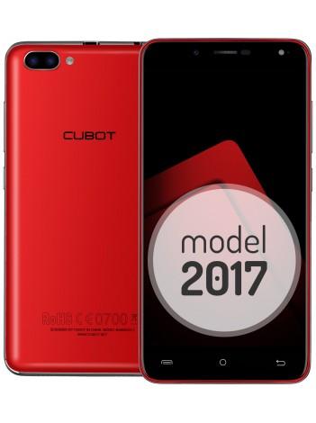 Telefon Mobil Cubot Rainbow 2, Rosu, BUNDLE (include Husa Transparenta) +BONUS: Folie Sticla