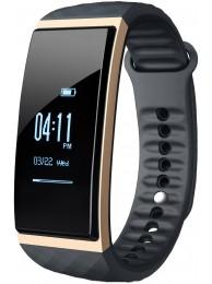 Bratara Inteligenta Cubot Band S1, Ecran Tactil OLED 0.96 inch, Standard Protectie IP65, Ceas, Pedometru, Puls, Monitorizare Somn, Presiune Atmosferica, Temperatura, Altitudine, Alarma, Sedentar, Cronometru, Auriu