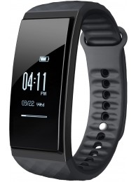 Bratara Inteligenta Cubot Band S1, Ecran Tactil OLED 0.96 inch, Standard Protectie IP65, Ceas, Pedometru, Puls, Monitorizare Somn, Presiune Atmosferica, Temperatura, Altitudine, Alarma, Sedentar, Cronometru, Negru