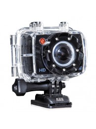 AEE Magicam SD18 1080p, 5MPx CMOS, GPS, Time Lapse, 175 Grade - Include LCD, Carcasa Subacvatica 60m