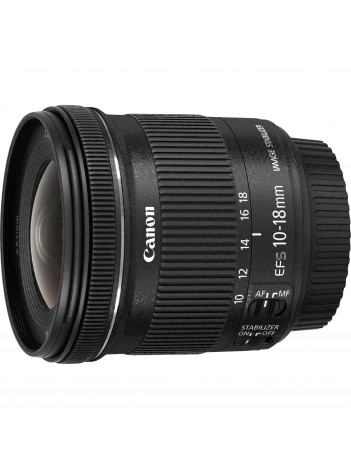 Obiectiv Canon EF-S 10-18mm f/4.5-5.6 IS STM - Wide Angle Zoom