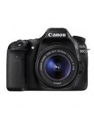 Canon EOS 80D cu Obiectiv 18-55mm IS STM + CashBack Canon 450 Lei