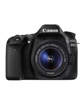 Canon EOS 80D cu Obiectiv 18-55mm IS STM