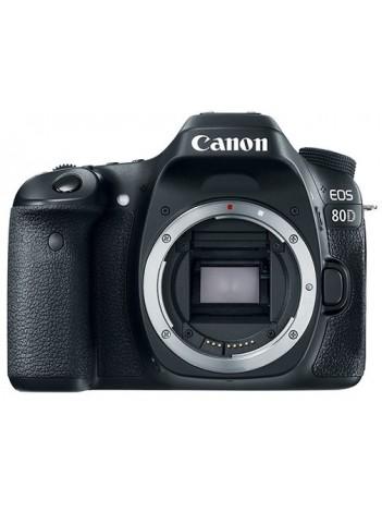 Canon EOS 80D Body, eTTL FLASH KIT