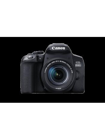 Canon EOS 850D cu Obiectiv 18-55mm IS STM