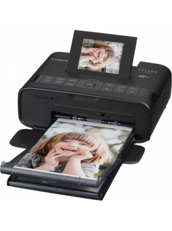 Canon Selphy CP1200 Negru - Wi-Fi + AirPrint, KIT x1