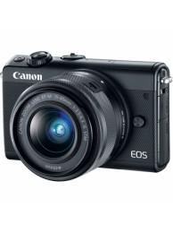 Aparat Foto Mirrorless Canon EOS M100, Negru cu Obiectiv EF-M 15-54mm f/3.5-6.3 IS STM