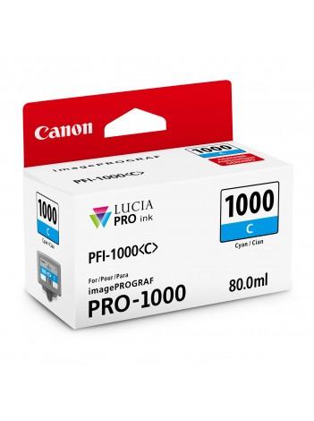 Canon PFI1000C (Cyan) - cerneala pentru PRO-1000 ImagePrograf