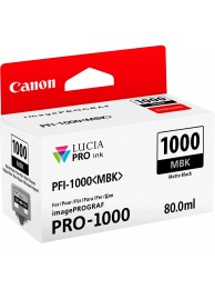 Canon PFI1000MBK (Matte Black) - cerneala pentru PRO-1000 ImagePrograf