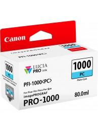 Canon PFI1000PC (Photo Cyan) - cerneala pentru PRO-1000 ImagePrograf