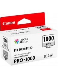 Canon PFI1000PGY (Photo Gray) - cerneala pentru PRO-1000 ImagePrograf