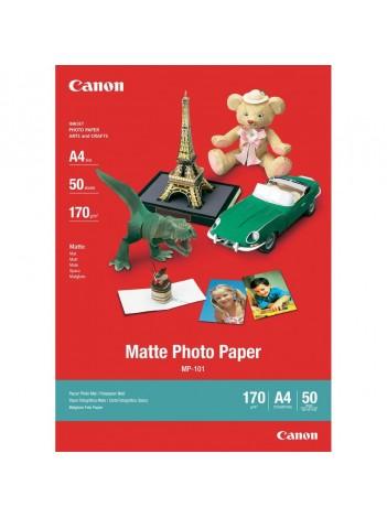 Hartie Foto Canon MP101, Finisaj Mat, A4, 50 coli, 170g/mp