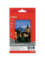 Hartie Foto Canon SG201, Finisaj Semi-Gloss Satin, 10x15cm, 50 coli, 260g/mp