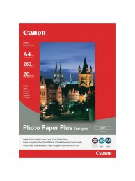 Hartie Foto Canon SG201, Finisaj Semi-Gloss Satin, A4, 20 coli, 260g/mp