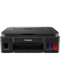 Multifunctional Inkjet Color CISS Canon Pixma G3400, Format A4, 3-in-1 (Imprimare, Copiere, Scanare), Wireless, Cloud Print