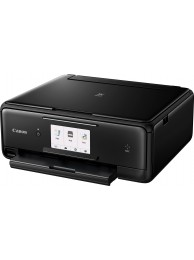 Multifunctional InkJet Color Canon Pixma TS8050 Wireless, 9600x2400 dpi, Format A4 (Imprimare, Copiere, Scanare), Duplex, Pixma Cloud, Pixma Touch Print NFC, Google Clud Print, Apple AirPrint, Negru