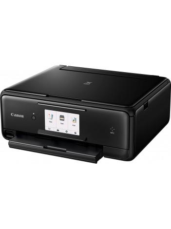 Multifunctional InkJet Color Canon Pixma TS8050 Wireless, 9600x2400 dpi, Format A4 (Imprimare, Copiere, Scanare), Duplex, Pixma Cloud, Pixma Touch Print NFC, Google Clud Print, Apple AirPrint, Negru