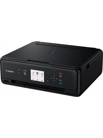 Multifunctional InkJet Color Canon Pixma TS5050 Wireless, 4800x1200 dpi, Format A4 (Imprimare, Copiere, Scanare), Pixma Cloud, Google Cloud Print, Apple AirPrint, Negru