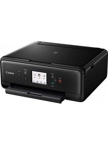 Multifunctional InkJet Color Canon Pixma TS6050 Wireless, 4800x1200 dpi, Format A4 (Imprimare, Copiere, Scanare), Duplex, Pixma Cloud, Google Cloud Print, Apple AirPrint, Negru