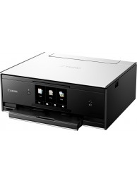 Multifunctional InkJet Color Canon Pixma TS9050 Wireless, 9600x2400 dpi, Format A4 (Imprimare, Copiere, Scanare), Duplex, Pixma Cloud, Pixma Touch Print NFC, Google Clud Print, Apple AirPrint, Alb