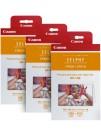 Canon RP-108, Ribbon + Hartie Foto, Format Carte Postala, SET Promo 3 +1 pachete