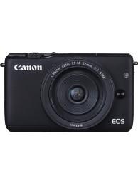 Aparat Foto Mirrorless Canon EOS M10 Negru cu Obiectiv EF-M 22mm f/2.0 STM