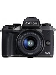 Aparat Foto Mirrorless Canon EOS M5, Negru cu Obiectiv EF-M 15-45mm f/3.5-6.3 IS STM