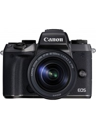 Aparat Foto Mirrorless Canon EOS M5, Negru cu Obiectiv EF-M 18-150mm IS STM