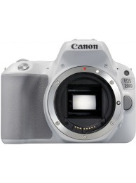 Aparat Foto Canon EOS 200D Body, Alb