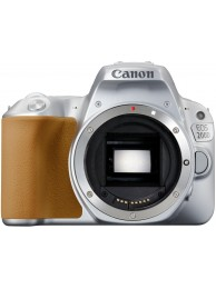 Aparat Foto Canon EOS 200D Body, Argintiu + CashBack Canon 230 Lei