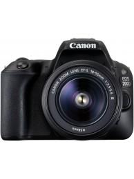 Aparat Foto Canon EOS 200D cu Obiectiv 18-55mm f/3.5-5.6 DC III + CashBack Canon 230 Lei